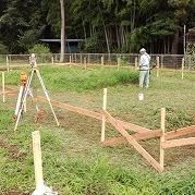 新築工事始まる